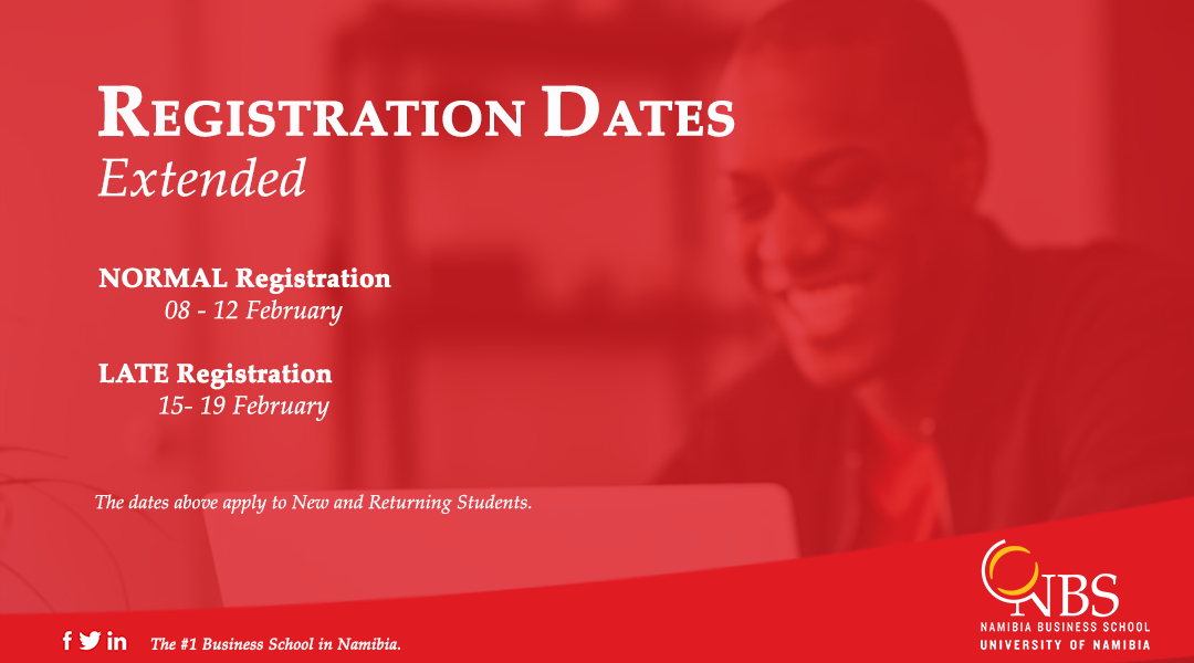 NBS Registration Dates Extended